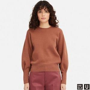 Uniqlo U milano ribbed crew neck sweater